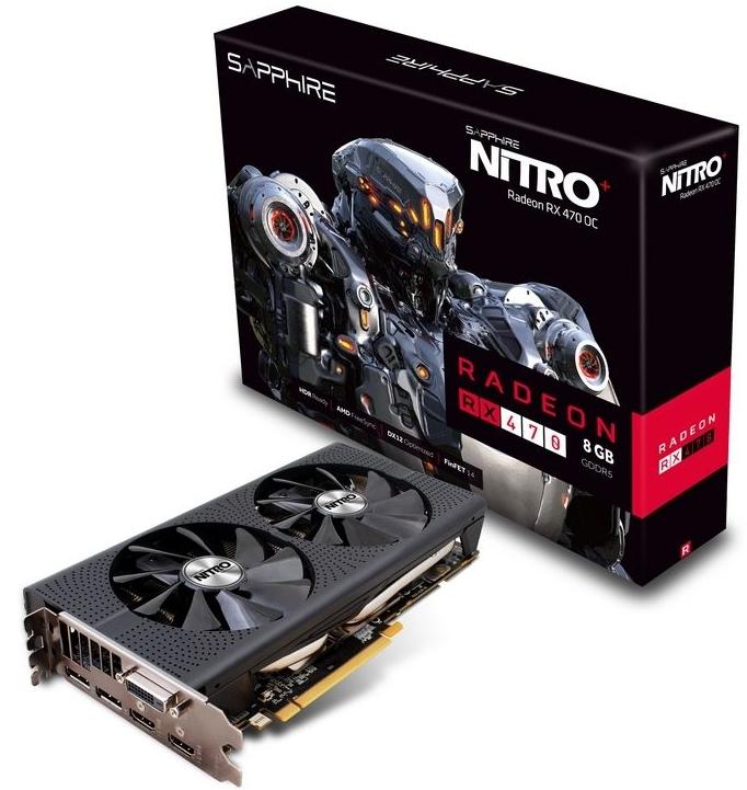 Sapphire Nitro Radeon RX470