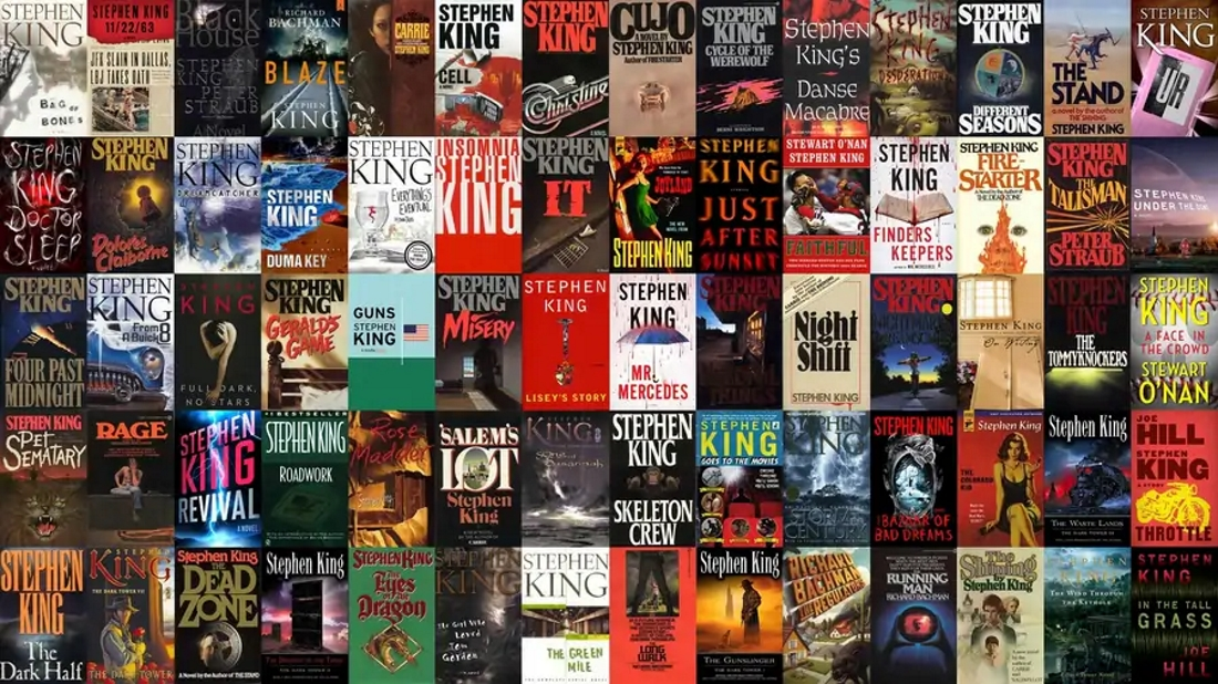 ТОП-10 самых лучших книг Стивена Кинга