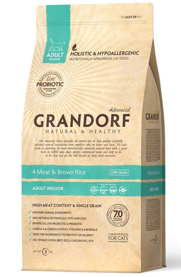 Grandorf4 Meat &Brown Rice INDOOR