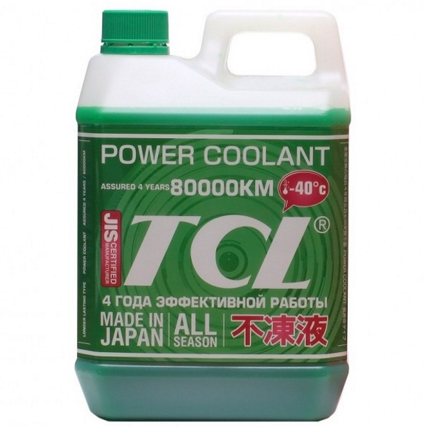TCL Power Coolant Green -40