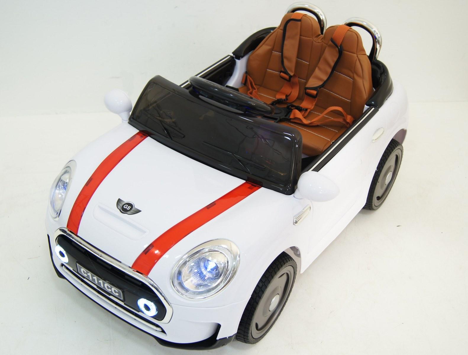 RiverToys Автомобиль Mini Cooper С111СС