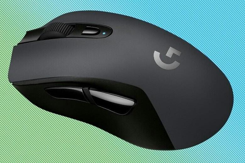 Logitech GG603 lightspeed Black-Grey USB