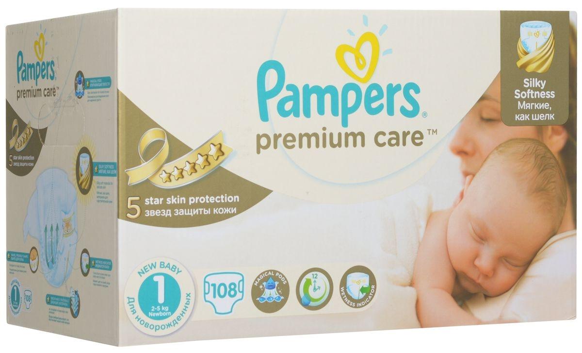 Pampers Premium Care1(2-5 кг)