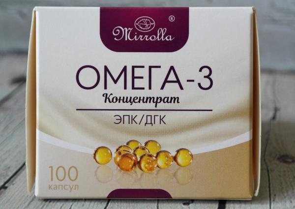 БАД Мирролла «Омега-3»