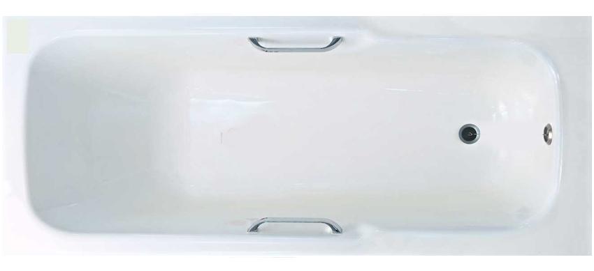 Silver «Prada» 1700×750с ручками