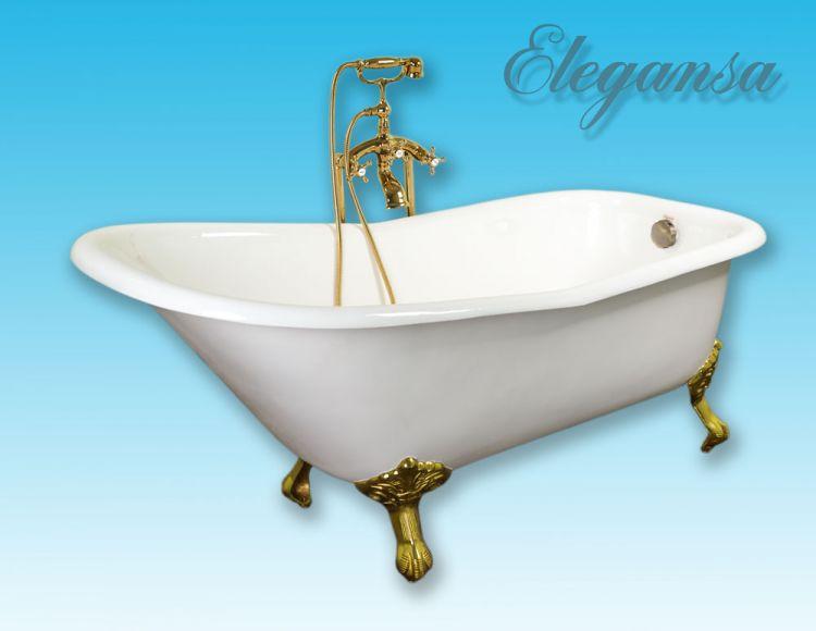 Elegansa Schale Gold 167,6×76,5