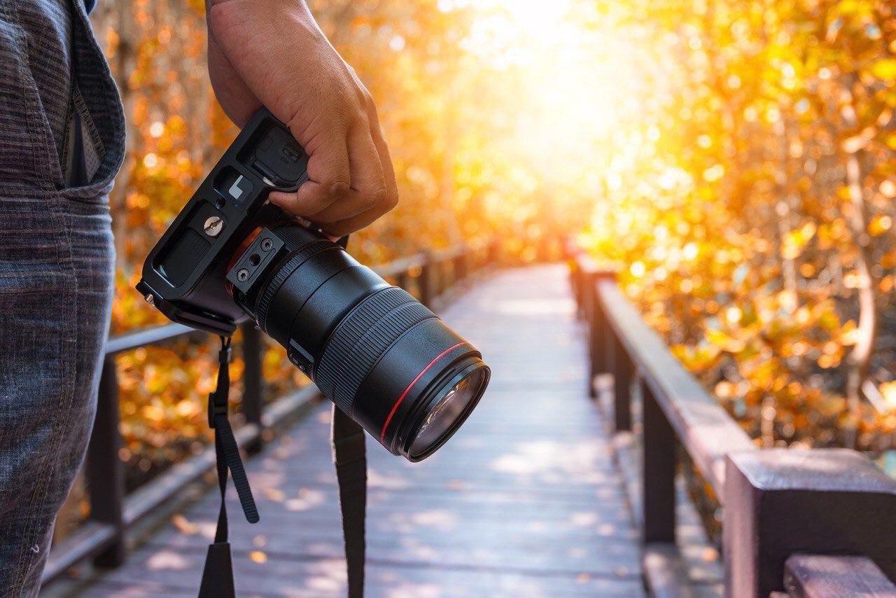 фотоаппарат для стоковой фотографии